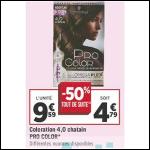 Bon Plan Coloration Pro Color de Schwarzkopf chez Géant Casino (18/09 - 30/09) - anti-crise.fr