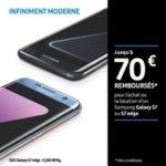 Offre de remboursement 70€ sur Samsung Galaxy S7 ou S7 Edge