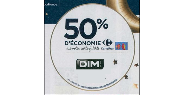 Bon Plan Produits Dim chez Carrefour - anti-crise.fr