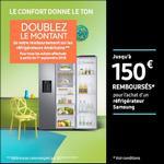 Offre de Remboursement Samsung : Jusqu'à 150€ Remboursés sur Réfrigérateur - anti-crise.fr