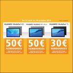 Offre de Remboursement Huawei : Jusqu'à 50€ Remboursés sur MediaPad - anti-crise.fr