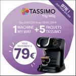 Offre de Remboursement Tassimo : Machine My Way T60 + 5 Paquets pour 79€ - anti-crise.fr