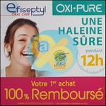 Offre de Remboursement Efiseptyl : 1 Produit Oxi-Pure 100% Remboursé - anti-crise.fr