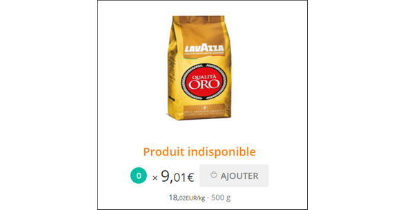 Bon Plan Café Grains Oro Lavazza 500g - anti-crise.fr