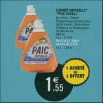 Bon Plan Liquide Vaisselle Paic chez Leclerc - anti-crise.fr