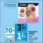 Bon Plan Dolce Pizza Sodebo chez Auchan - anti-crise.fr