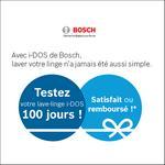 Offre d'Essai Bosch : Lave-Linge i-DOS Satisfait ou 100% Remboursé - anti-crise.fr