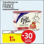 Bon Plan Yaourts Light & Free de Danone chez Intermarché - anti-crise.fr