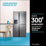 Offre de Remboursement Samsung : Jusqu'à 300€ Remboursés sur Réfrigérateur - anti-crise.fr