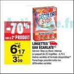 Bon Plan Lingettes Décolor Stop chez Carrefour Market - anti-crise.fr