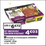 Bon Plan Salade & Compagnie Sodebo chez Casino - anti-crise.fr
