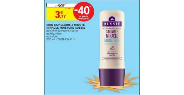 Bon Plan Shampooing Aussie chez Intermarché - anti-crise.fr