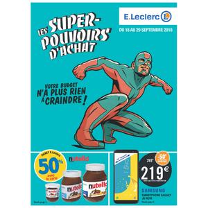 Catalogue Leclerc du 18 au 28 septembre 2018