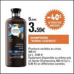 Bon Plan Shampooing ou Après-Shampooing Herbal Essence chez Leclerc - anti-crise.fr