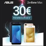Offre de Remboursement Azus : 30€ Remboursés sur Smartphone ZenFone - anti-crise.fr