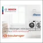 Offre de Remboursement Bosch : Jusqu'à 100% Remboursé Electroménager - anti-crise.fr