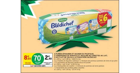Bon Plan Blédichef de Blédina chez Intermarché - anti-crise.fr