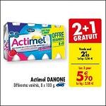 ²Bon Plan Actimel chez Carrefour (28/08 - 10/09) - anti-crise.fr