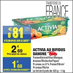 Bon Plan Activia de Danone chez Carrefour Market (25/09 - 30/09) - anti-crise.fr