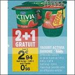 Bon Plan Activia Danone chez Carrefour Market (04/09 - 16/09) - anti-crise.fr