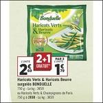 Bon Plan Légumes Surgelés chez Géant Casino (04/09 - 16/09) - anti-crise.frf