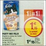 Bon Plan Friandises pour Chat Felix Party Mix chez Magasins U (25/09 - 30/09) - anti-crise.fr