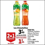 Bon Plan Boisson Fuze Tea chez Auchan (12/09 - 18/09) - anti-crise.fr