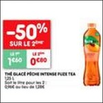 Bon Plan Boisson Fuze Tea chez Leader Price (02/10 - 14/10) - anti-crise.fr