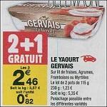 Bon Plan Le Yaourt Gervais chez Carrefour Market (18/09 - 30/09) - anti-crise.fr