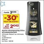 Bon Plan Après-Shampooing Gliss chez Casino (18/09 - 30/09) - anti-crise.fr