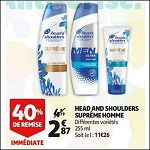Bon Plan Shampooing Homme Suprême Head & Shoulders chez Auchan (12/09 - 18/09) - anti-crise.fr
