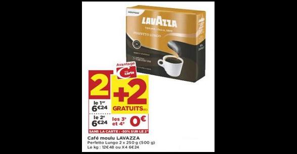 Bon Plan Café Moulu Lavazza chez Casino (04/09 - 16/09) - anti-crise.fr