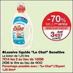 Bon Plan Lessive Liquide Le Chat chez Monoprix (12/09 - 24/09) -anti-crise.fr