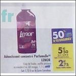 Bon Plan Adoucissant Lenor chez Carrefour (25/09 - 01/10) - anti-crise.fr