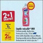 Bon Plan Liquide Vaisselle Mir chez Carrefour (04/09 - 10/09) - anti-crise.fr