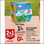Bon Plan Bols de Légumes Naturnes de Nestlé chez Auchan (12/09 - 25/09) - anti-crise.fr