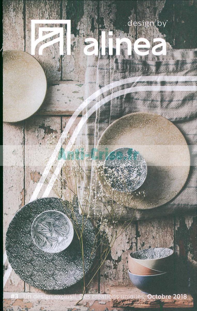 Catalogue Alinea Du 1er Au 31 Octobre 2018