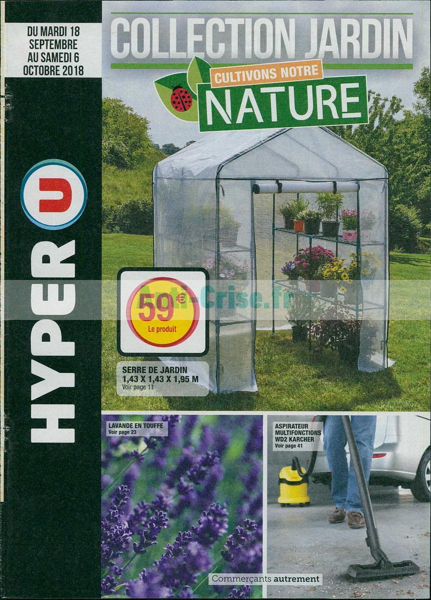 Catalogue Jardin Hyper U