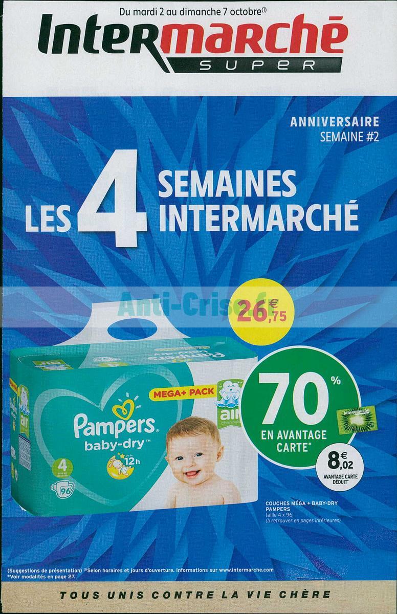 Catalogue Intermarché Du 2 Au 7 Octobre 2018 Version Super