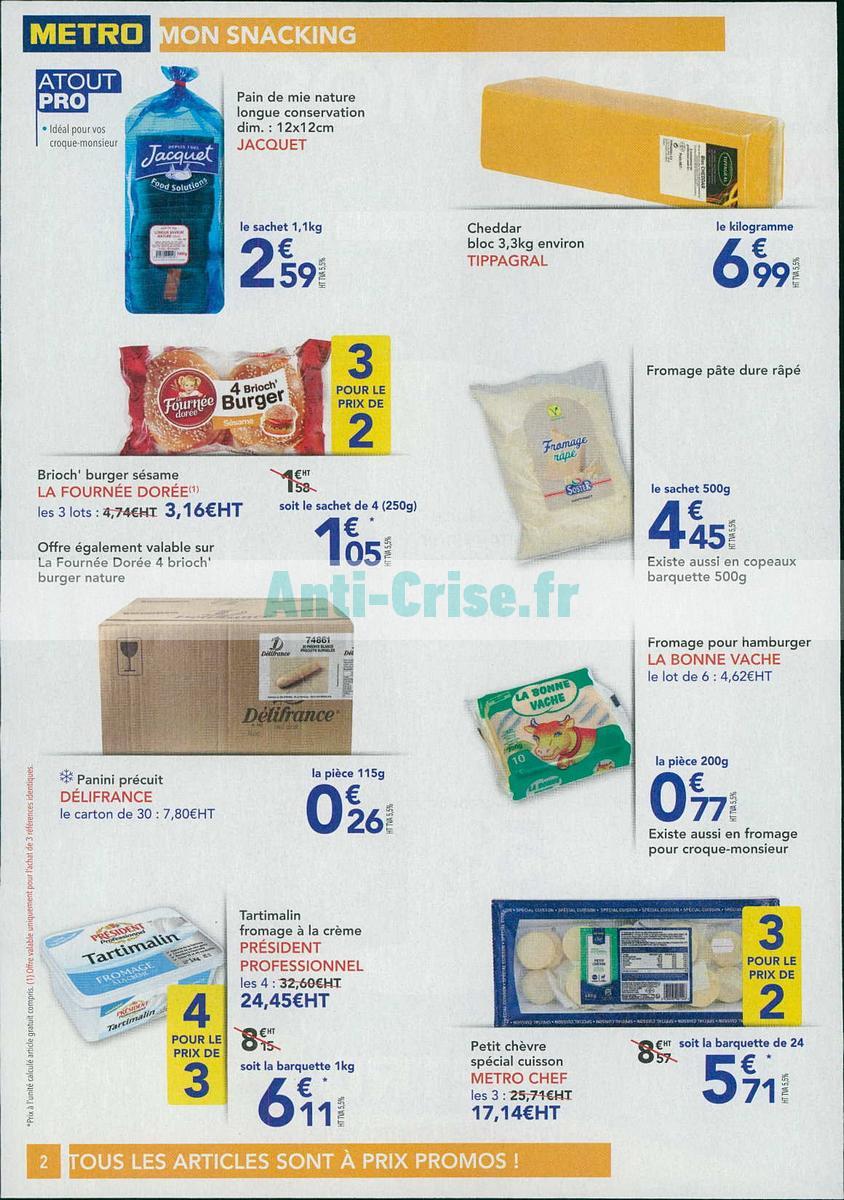 Catalogue Metro du 20 septembre au 3 octobre 2018 (Snacking)