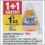 Bon Plan Liquide Vaisselle Paic chez Carrefour Market (18/09 - 30/09) - anti-crise.Fr
