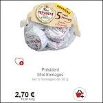 Bon Plan Mini Fromages Président Partout - anti-crise.fr