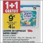 Bon Plan Lessive Super Croix Caps chez Carrefour Market (18/09 - 30/09) - anti-crise.fr