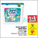 Bon Plan Lessive Super Croix Caps chez Carrefour (11/09 - 24/09) - anti-crise.fr