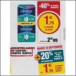 Bon Plan Tampons Tampax chez Magasins U (11/09 - 22/09) - anti-crise.fr