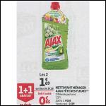 Bon Plan Nettoyant Ajax chez Auchan Supermarché (31/10 - 06/11) - anti-crise.fr