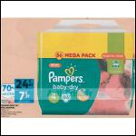 Bon Plan Couches Pampers Baby Dry chez Auchan Supermarché (31/10 - 06/11) - anti-crise.fr