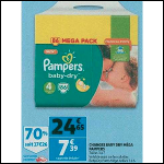 Bon Plan Couches Pampers Baby Dry chez Auchan (31/10 - 06/11) - anti-crise.fr