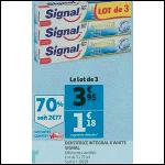 Bon Plan Dentifrice Signal Integral 8 chez Auchan (31/10 - 06/11) - anti-crise.fr