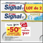 Bon Plan Dentifrice Signal Integral 8 chez Casino (16/10 - 28/10) - anti-crise.fr